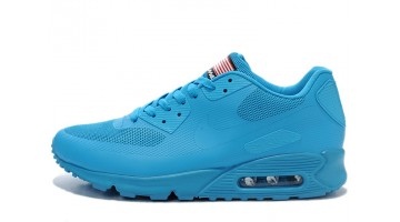 Кроссовки женские Nike Air Max 90 Hyperfuse Light Blue