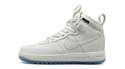 Nike Lunar Force 1 DUCKBOOT White Pure