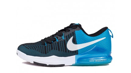 Zoom КРОССОВКИ МУЖСКИЕ<br/> NIKE AIR ZOOM TRAINING BLUE GLOW BLACK