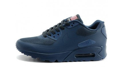 Air Max 90 КРОССОВКИ МУЖСКИЕ<br/> NIKE AIR MAX 90 HYPERFUSE DARK BLUE