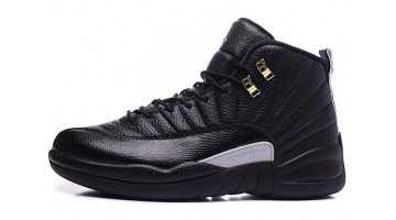 Кроссовки мужские Nike Air Jordan 12 The Master Black Rattan