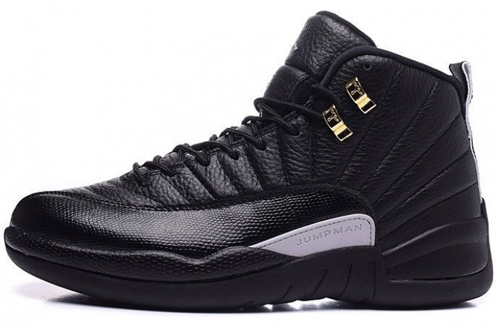 Кроссовки Nike Air Jordan 12 (XII) The Master Black Rattan