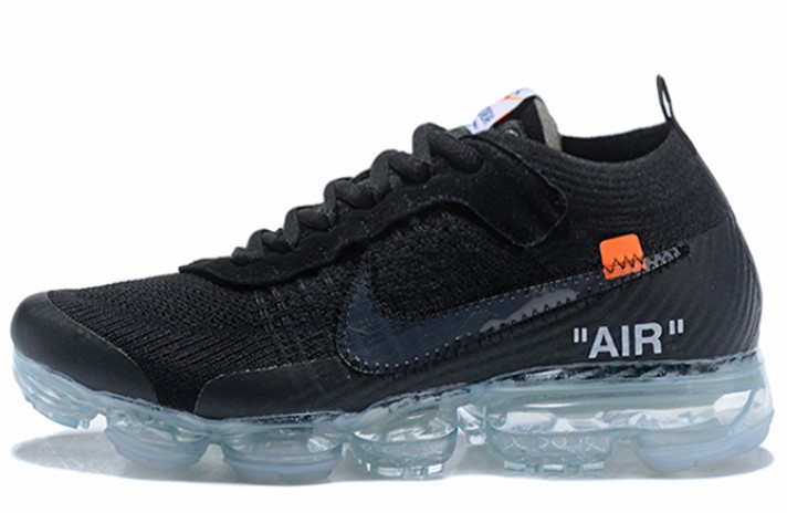 Кроссовки Nike VaporMax Off White Black Total Clear