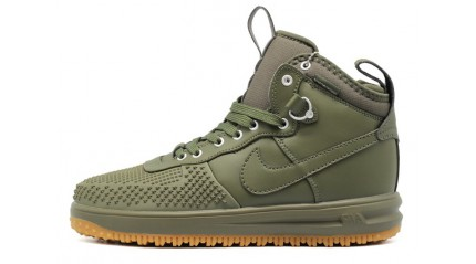 Nike Lunar Force 1 DUCKBOOT Cargo Khaki Olive Medium