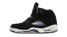 Nike Air Jordan 5 (V) Black Cool Grey черные