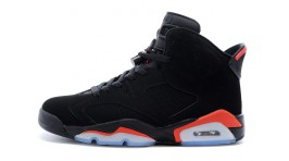Nike Air Jordan 6 (VI) Infrared Black черные