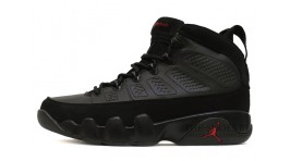 Nike Air Jordan 9 (IX) Black Varsity Red черные