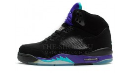 Nike Air Jordan 5 (V) Grape Black черные