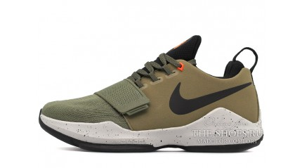 Zoom КРОССОВКИ МУЖСКИЕ<br/> NIKE AIR ZOOM PG 1 ELEMENTS MEDIUM OLIVE