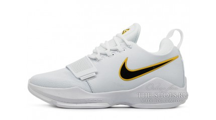 Zoom КРОССОВКИ МУЖСКИЕ<br/> NIKE AIR ZOOM PG 1 HOME PE WHITE