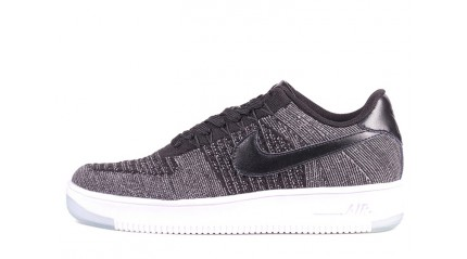 Air Force КРОССОВКИ МУЖСКИЕ<br/> NIKE AIR FORCE LOW FLYKNIT GRAY DARK