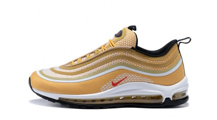 Air Max 97 КРОССОВКИ МУЖСКИЕ<br/> NIKE AIR MAX 97 ULTRA METALLIC GOLD WHITE