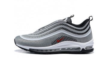 Кроссовки мужские Nike Air Max 97 Ultra Metallic Silver Gray