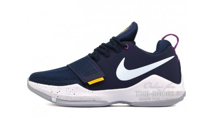 Zoom КРОССОВКИ МУЖСКИЕ<br/> NIKE AIR ZOOM PG 1 FEROCITY THE BAIT BLUE
