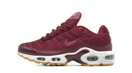 Nike Air Max TN Plus Satin Pack Night Maroon Noble Red бордовые