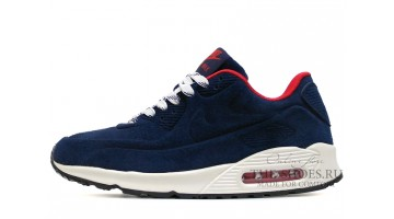 Кроссовки женские Nike Air Max 90 VT Winter Blue Navy Red