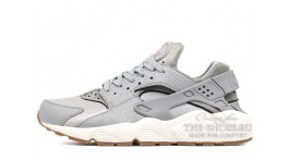 Nike Air Huarache Wolf Grey Glaze Sail серые