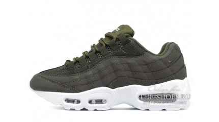 Nike Air Max 95 Green Khaki Sail