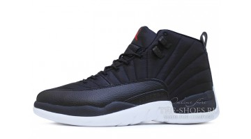 Кроссовки мужские Nike Air Jordan 12 Waterproof Nylon Black