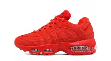 Кроссовки женские Nike Air Max 95 Red Hot