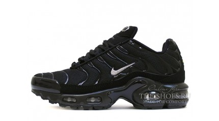 Air Max TN Plus КРОССОВКИ МУЖСКИЕ<br/> NIKE AIR MAX TN PLUS BLACK SILVER