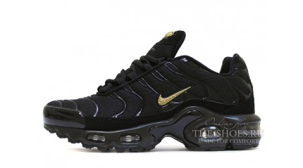 Air Max TN Plus КРОССОВКИ МУЖСКИЕ<br/> NIKE AIR MAX TN PLUS BLACK GOLD