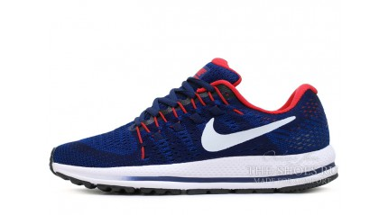 Zoom КРОССОВКИ МУЖСКИЕ<br/> NIKE AIR ZOOM VOMERO 12 BLUE DEEP