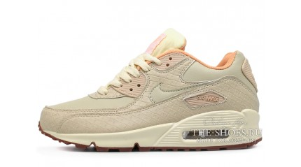 Air Max 90 КРОССОВКИ ЖЕНСКИЕ<br/> NIKE AIR MAX 90 OATMEAL GLAZE KHAKI LEATHER