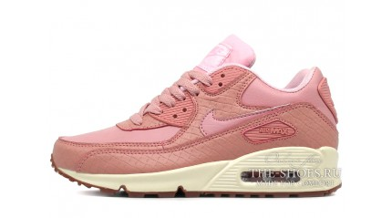 Air Max 90 КРОССОВКИ ЖЕНСКИЕ<br/> NIKE AIR MAX 90 PINK GLAZE LEATHER