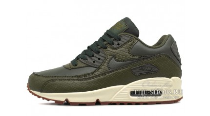 Air Max 90 КРОССОВКИ ЖЕНСКИЕ<br/> NIKE AIR MAX 90 GREEN GLAZE LEATHER