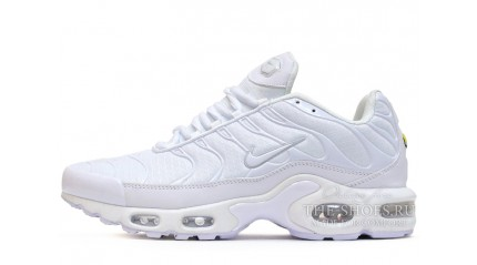 Air Max TN Plus КРОССОВКИ МУЖСКИЕ<br/> NIKE AIR MAX TN PLUS PURE WHITE
