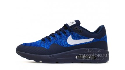 Nike Air Max 87 Ultra Flyknit Dark Blue Racer