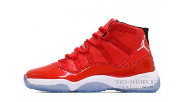 Кроссовки мужские Nike Air Jordan 11 High Red Gym Chicago