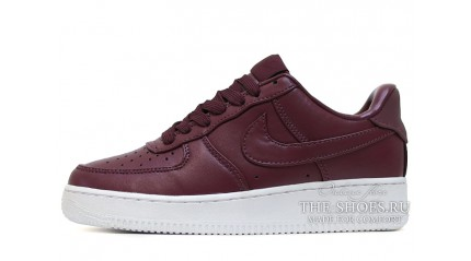 Nike Air Force 1 Low Maroon Night Leather