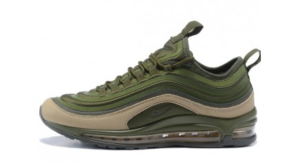 Air Max 97 КРОССОВКИ МУЖСКИЕ<br/> NIKE AIR MAX 97 ULTRA SE CARGO KHAKI SEQUOIA