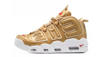 Кроссовки Мужские Nike Air More Uptempo 96 Supreme Gold