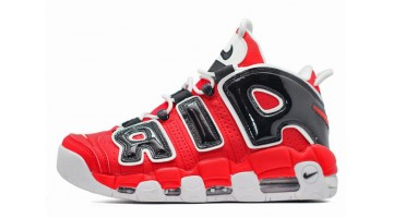 Кроссовки женские Nike Air More Uptempo 96 Bulls Red Black