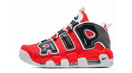 Nike Air More Uptempo 96 Bulls Red Varsity Black