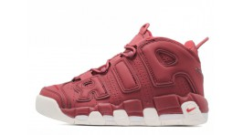 Nike Air More Uptempo 96 Dark Maroon Bordeaux бордовые