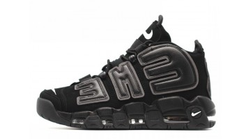 Кроссовки Мужские Nike Air More Uptempo 96 Supreme Black