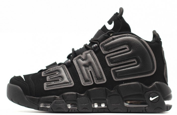 Кроссовки Nike Air More Uptempo 96 Supreme Black