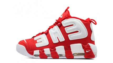 Nike Air More Uptempo 96 Supreme Red White