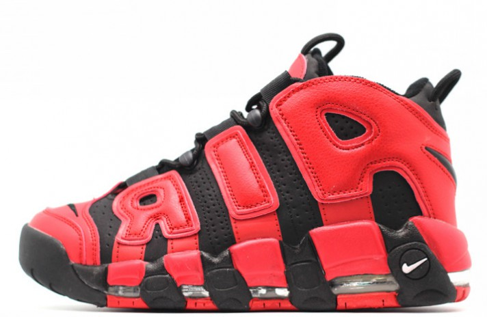 Кроссовки Nike Air More Uptempo 96 Infrared Red Black