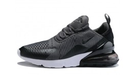 Nike Air Max 270 Gray Dark Black темно-серые