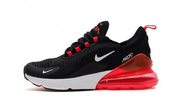 Кроссовки женские Nike Air Max 270 Black Red White