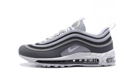 Air Max 97 КРОССОВКИ МУЖСКИЕ<br/> NIKE AIR MAX 97 WOLF DARK GREY SUMMIT WHITE