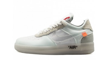 Кроссовки мужские Nike Air Force Low Off White X Sail