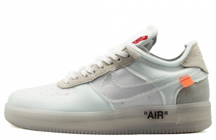Кроссовки Nike Air Force 1 Low Off White X Sail