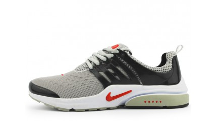 Air Presto КРОССОВКИ МУЖСКИЕ<br/> NIKE AIR PRESTO GRAY BLACK RED