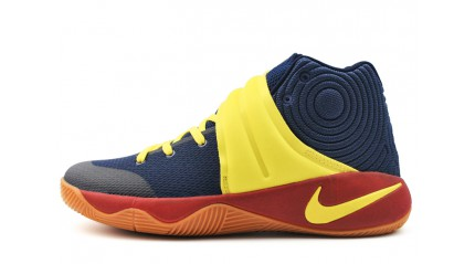 Kyrie КРОССОВКИ МУЖСКИЕ<br/> NIKE KYRIE 2 KY-REER HIGH BLUE YELLOW